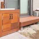 縁側と手洗い台