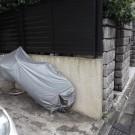 befor : 汚れの目立つ既存壁