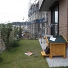 before:庭の犬小屋