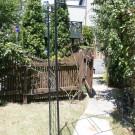 before:ウッドフェンスとウッド門扉