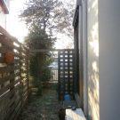 before:フェンスのすき間が大きくて、隣の視線が気になります。
