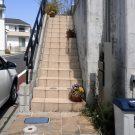 before:玄関に続くアプローチ階段