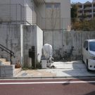 before:道路側から見た全景