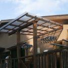 before:物干しスペースの屋根