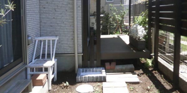 ウッドの立水栓