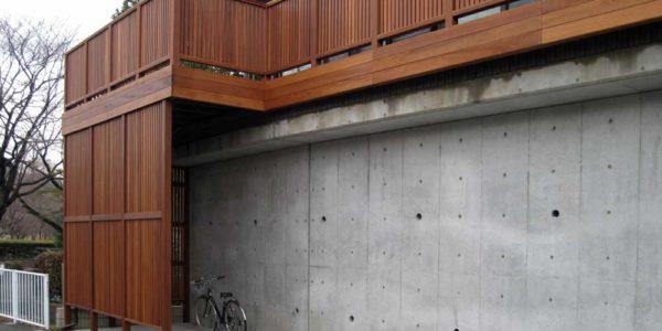 駐輪、駐車スペース、バルコニーデッキ