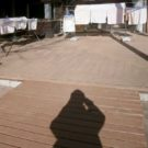 before:床が浮いているデッキ