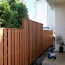 フェンス 完成時