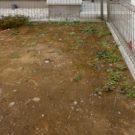 before:庭のコーナー