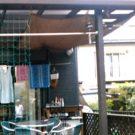 before:東側のテラス屋根