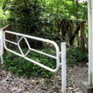 before:遊歩道から見たデッキ