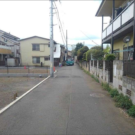 before:隣地前から見た敷地