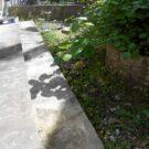 before:掃き出し窓にある土間階段