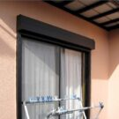 before:リビング前の掃き出し窓