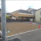 before:子世帯側から見た敷地全景