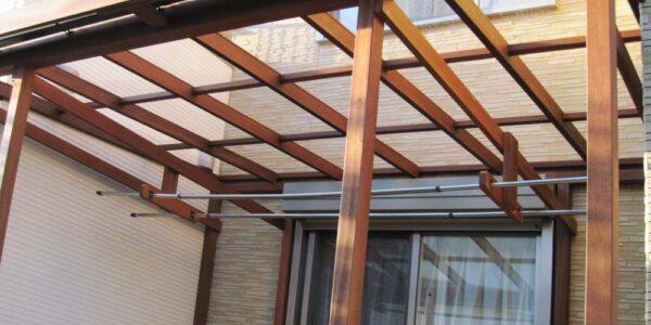 ウッドテラス屋根