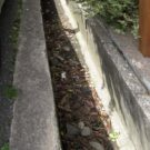 before:道路境界側の側溝